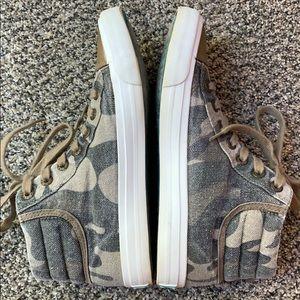 Blowfish Shoes - Blowfish Camo Hightop Sneakers